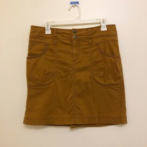 Athleta Khaki Tan Skirt Size 8